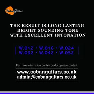 Coban Guitars SCG2 Acoustic PHOSPHORUS BRONZE x 5 Packets