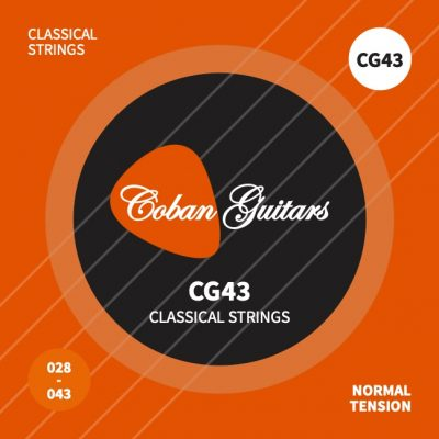 Coban Guitars New Improved Strings CG43 28-43 Nylon Classical Guitar Strings Normal Tension