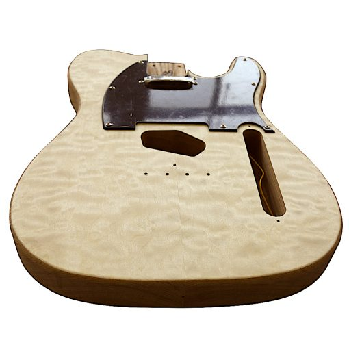 Electric Guitars DIY Kit TL65B Ash Body Quilted Veneer