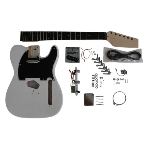 Electric Guitars Diy Kit TL6603 White Pre Painted Coban Guitars Right Handed Non Soldering