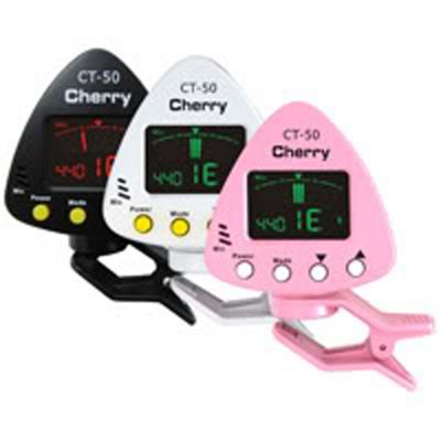 Genuine Cherry Music Black CT-50 (Clip-on Chromatic tuner)