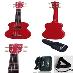 Coban Red Ukulele Complete package