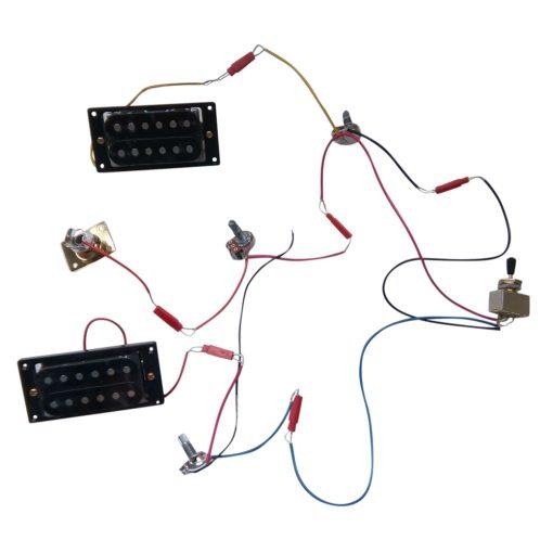 Electric Guitar DIY Kit EXP1 Mahogany Body Gold Hardware