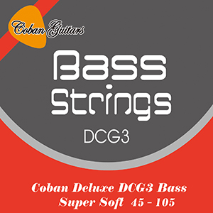 Coban Guitars Bass Strings Deluxe DCG3 Bass super soft.
