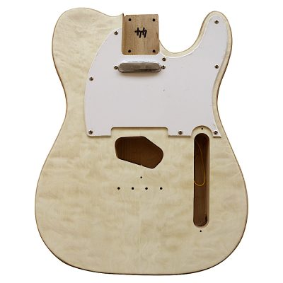 Electric Guitars DIY Kit TL65W Ash Body Quilted Veneer