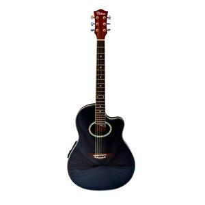 Coban Electro Acoustic Gloss Black standard Roundback