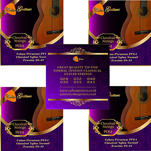 Coban Guitars Premium PCG1 Classical Nylon Normal Tension 28-43 Strings x 5 Packets