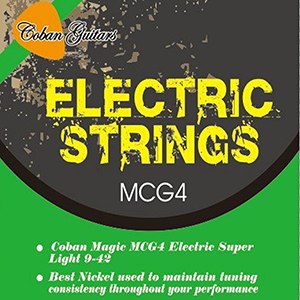 Coban Guitars MCG4 Electric Strings